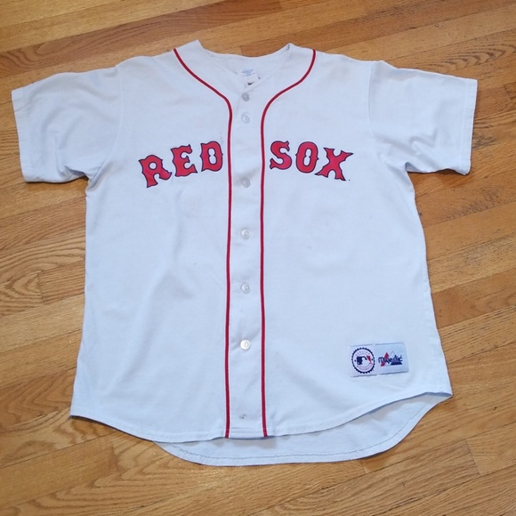 size 40 5fd8b 895b8 Boston Red Sox Manny Ramirez Button Up T-Shirt